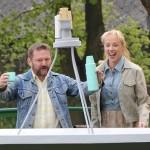 24. srpna 2020  - Petra Hřebíčková a Karel Zima v nové komedii Štěstí je krásná věc.